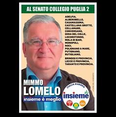Mimmo Lomelo candidato alle elezioni di domenica 4 marzo