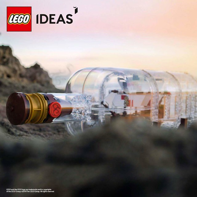 21313 Ship in a Bottle - pierwsza fotka
