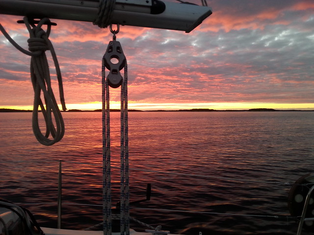 Sunset in the Stockholm Archipelago