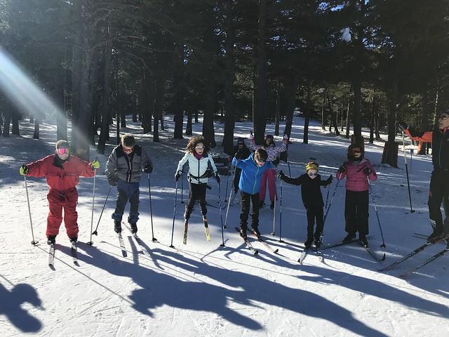 Primera sessió esport blanc i esquí escolar comarcal (2018)