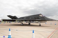 80-0788 - A.4013 - US Air Force - Lockheed F-117A Nighthawk - RIAT 2007 Fairford - 070714 - Steven Gray - IMG_5999