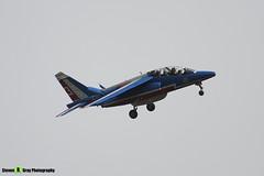 E31 3 - E31 - Patrouille de France - French Air Force - Dassault-Dornier Alpha Jet E - RIAT 2008 Fairford - 070711 - Steven Gray - IMG_6362