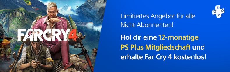 playstation plus im februar far cry 4 gratis zu jedem. Black Bedroom Furniture Sets. Home Design Ideas