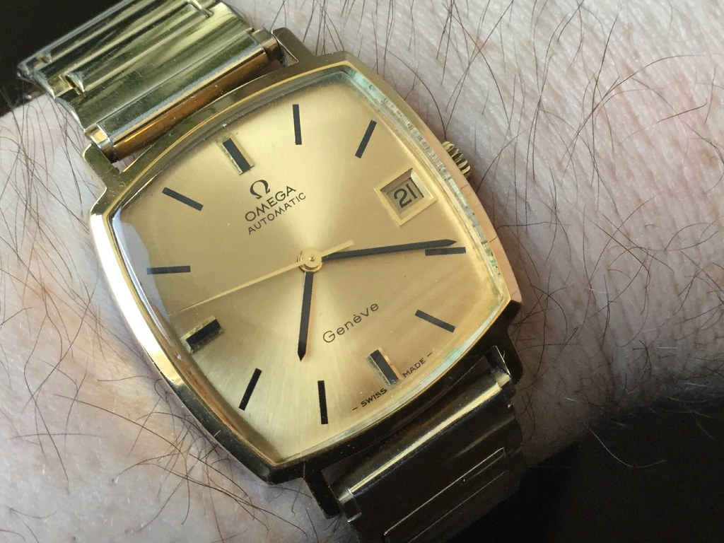Omega Geneve, cal 565, from 1970.