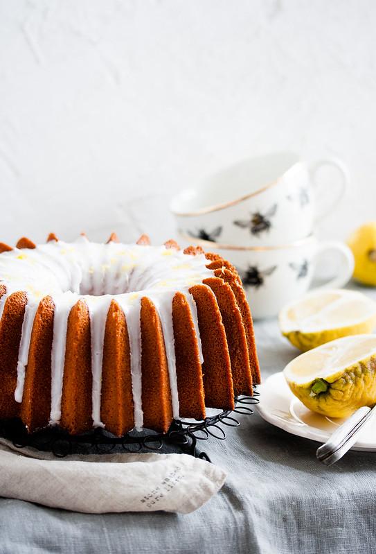 Bergamot & Gin Bundt Cake