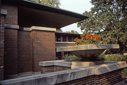 Robie House, Oak Park - Kodachrome - 1987