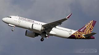 Airbus A320-251N VT-TNI Vistara (F-WWIX, MSN 8099, Maiden Flight) | Toulouse Blagnac TLS/LFBO