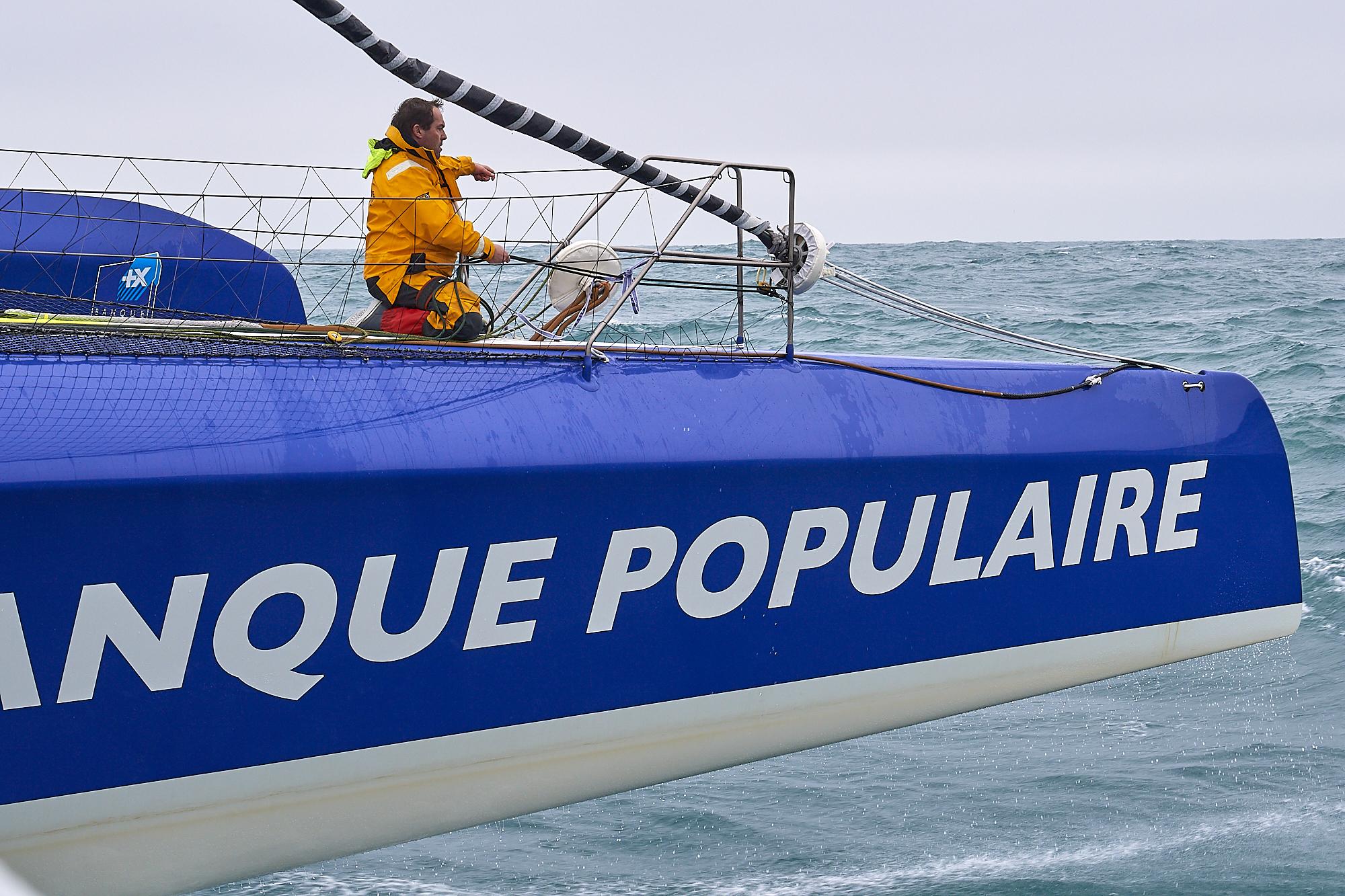 Navigations Maxi Banque Populaire IX - Janvier 2018