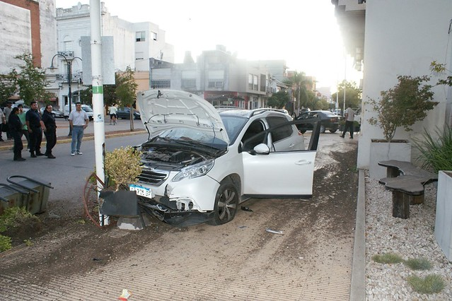 Accidente en Salgado y Perón