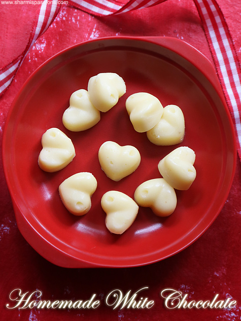homemade white chocolate recipe