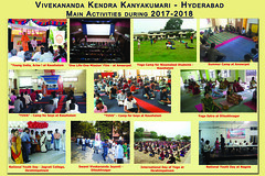Activity report from Hyderabad Vibhag
