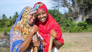 Young farmers, Tanzania