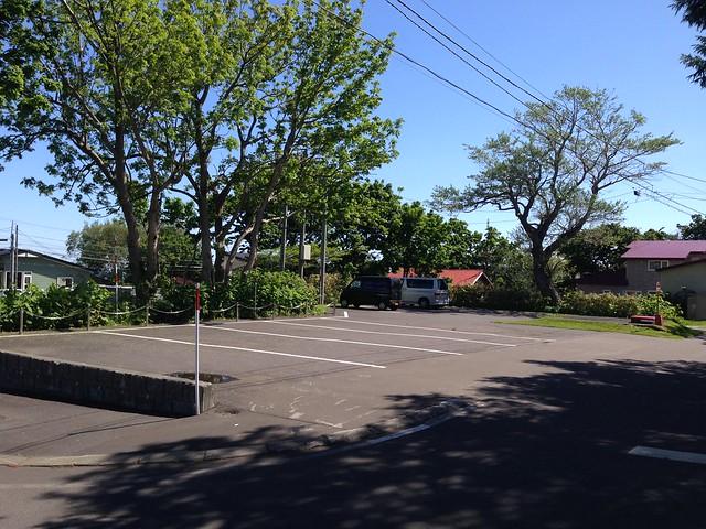 hokkaido-rishiri-island-local-history-museum-parking-01