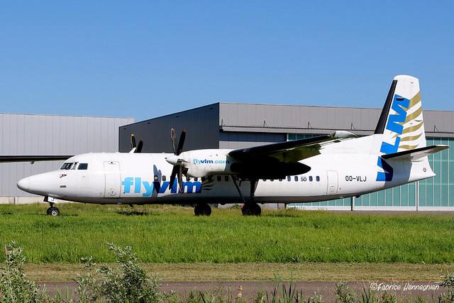 OO-VLJ VLM Fokker F50
