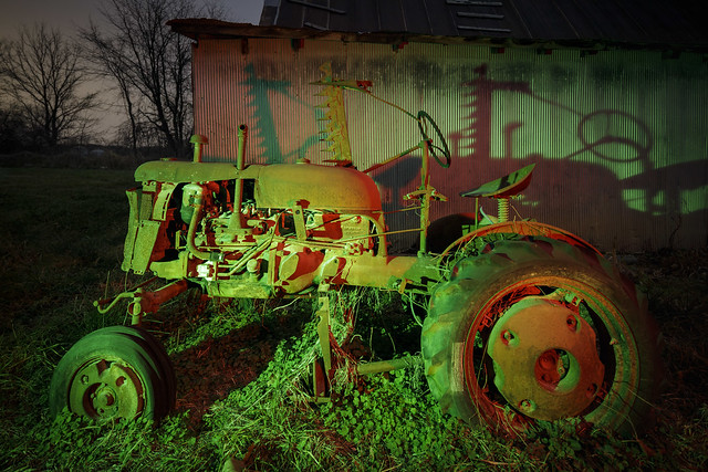 Green-Red Tractor