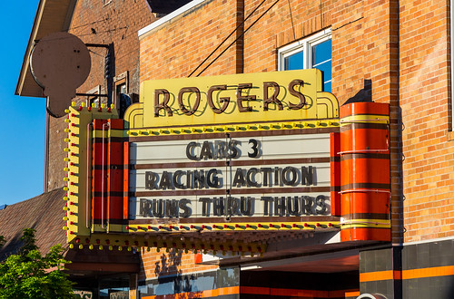 Rogers City Theater Marquee