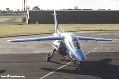 E46 7 F-UHRF - E46 - Patrouille de France - French Air Force - Dassault-Dornier Alpha Jet E - RIAT 2010 Fairford - Steven Gray - IMG_8089