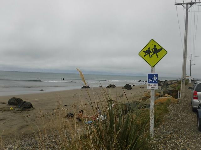 Surfing Riverton  New Zealand, Fujifilm FinePix XP80 XP81 XP85