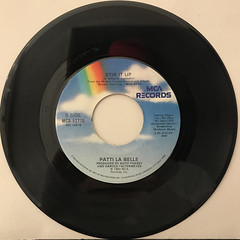 PATTI LA BELLE AND MICHAEL MCDONALD:ON MY OWN(RECORD SIDE-B)