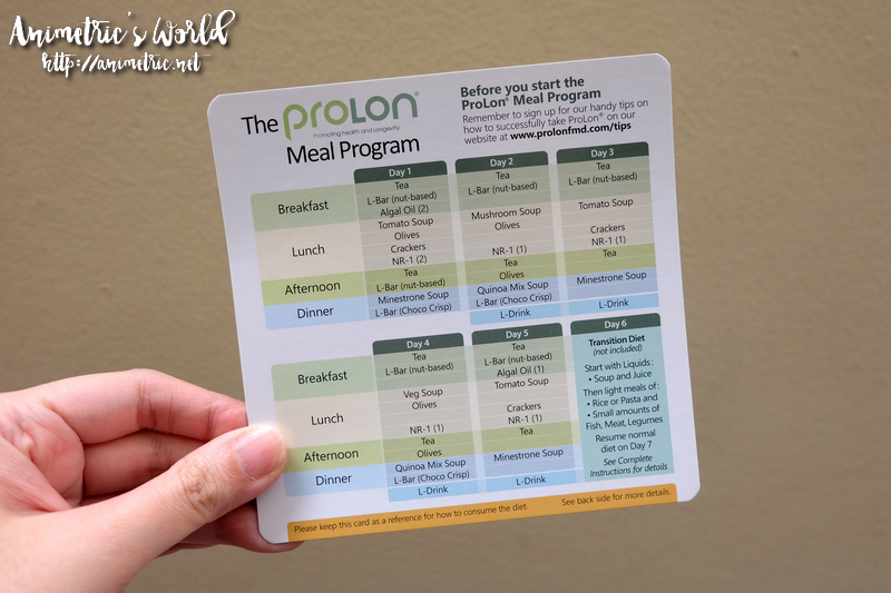 5-Day Prolon Meal Program