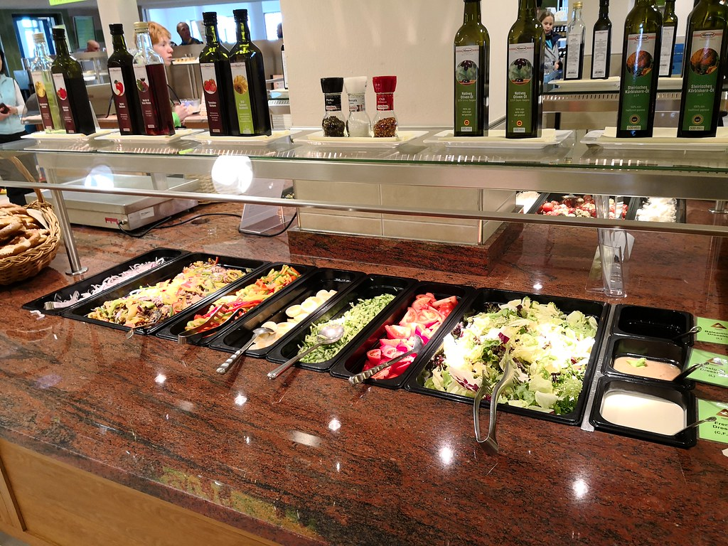 Salad counter