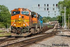 BNSF 5308 | GE C44-9W | BNSF Thayer South Subdivision