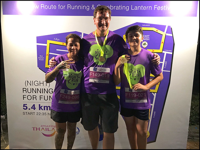 Phuket Town Night Run Finishers