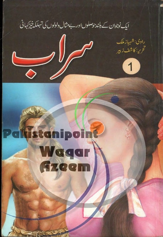 Sarab Part 1  is a very well written complex script novel which depicts normal emotions and behaviour of human like love hate greed power and fear, writen by Kashif Zubair , Kashif Zubair is a very famous and popular specialy among female readers