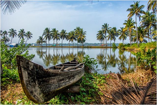 Cochin , Kumbalangi  Village ...