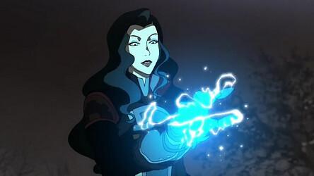 Asami_charging_an_electrified_glove