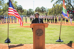 Dr. Reggie Ligon Baseball Complex Dedication