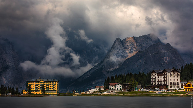 Drama at Misurina...