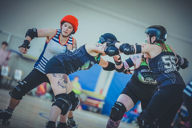 Hull's Angels vs. Les Déferlantes, France, 2016. Photo © Insane Motion Photography