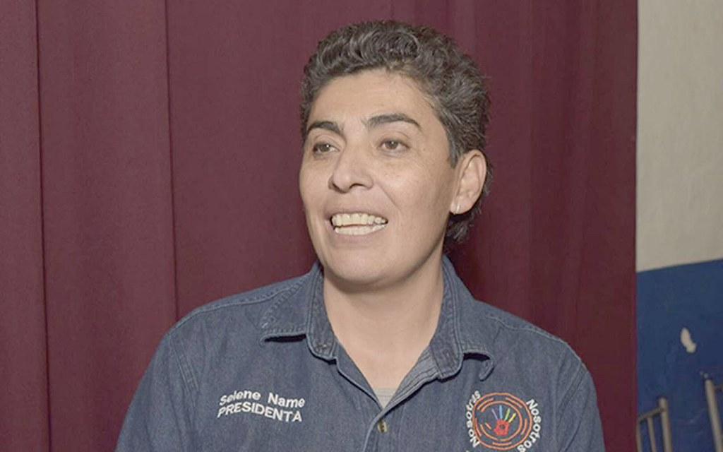 PÁG. 4 (1). Selene Name, representante de la asociación civil Nosotras Nosotros Durango e importante activista a favor  de los derechos de la comunidad LGBTTTI, denuncia discriminac