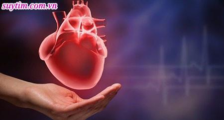 Suy tim sung huyết chủ yếu xảy ra ở tâm thất trái