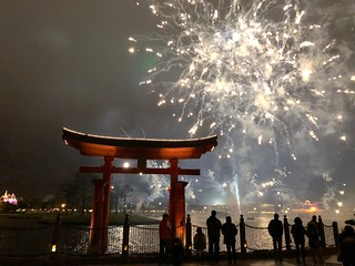 EPCOT New Year 2018