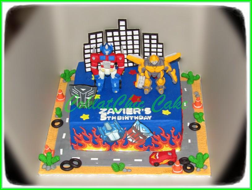 Cake The Transformers ZAVIER 24 cm