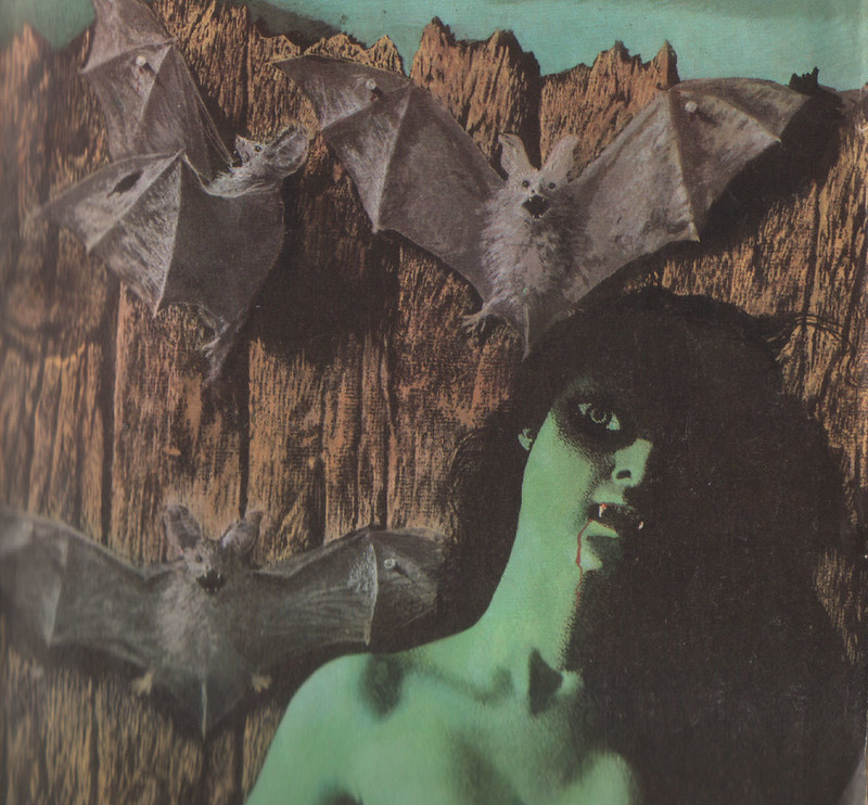 Karel Thole - Detail from Vampir Horror Roman - 045