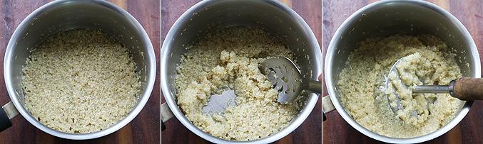 How to make quinoa porridge recipe - Step3