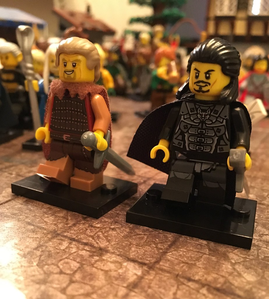 Ragnar the younger and Uhtred