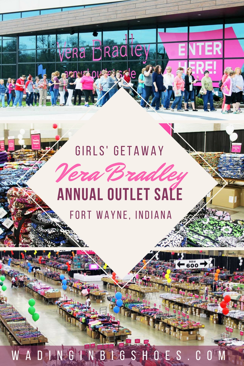 Girls' Getaway Weekend: Inside Vera Bradley's Massive Annual Outlet Sale (via Wading in Big Shoes)