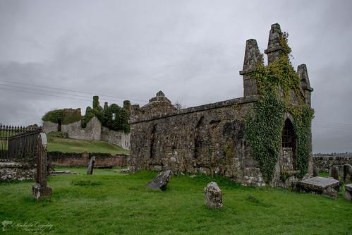 Carbury Castle and Motte Co. Kildare