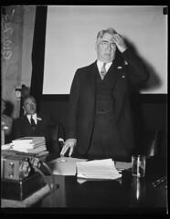 Copeland denies Senate restaurant is Jim Crow: 1934