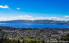 Lake Rotorua - Rotorua District, Bay of Plenty Region, North Island New Zealand