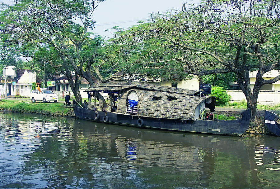Кеттуваллама - плавучие дома Кералы © Kartzon Dream - авторские путешествия, авторские туры в Индию, тревел видео, фототуры