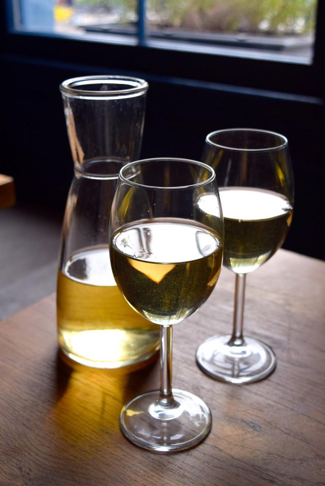 Sicilian White Wine at Oldroyd, Islington