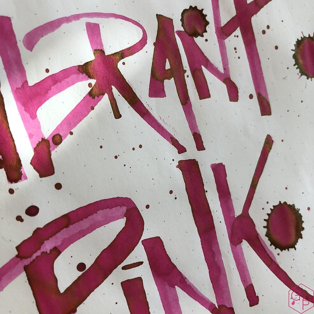 Ink Shot Review @LAMY Vibrant Pink 2018 Ink @laywines 30