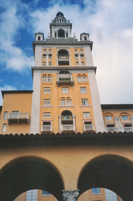 Miami-Biltmore Hotel & Country Club - Coral Gable Florida - Historic - From Archives 1990