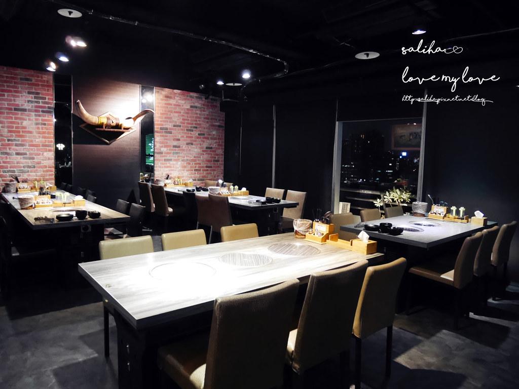 台北東區夜景景觀餐廳燒烤烤肉推薦好客燒烤忠孝店 (1)
