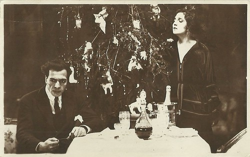 Maria Jacobini and Amleto Novelli in La casa di vetro